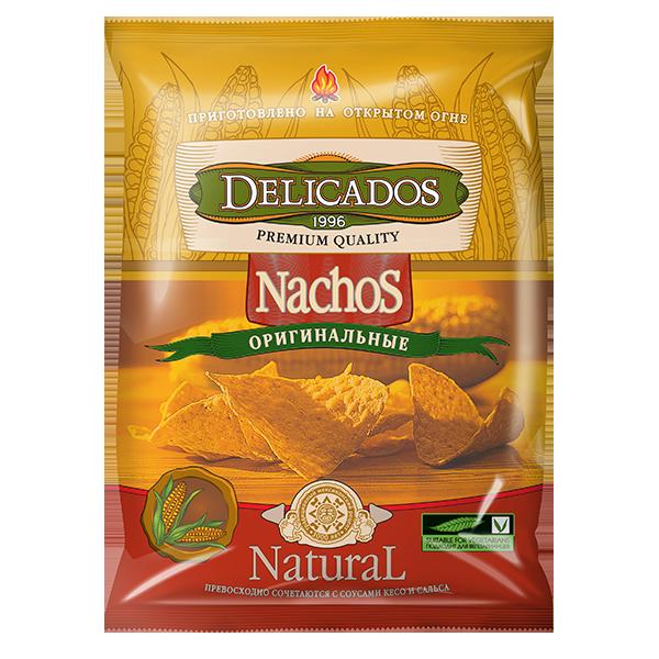 Кукурузные чипсы Nachos оригинальные