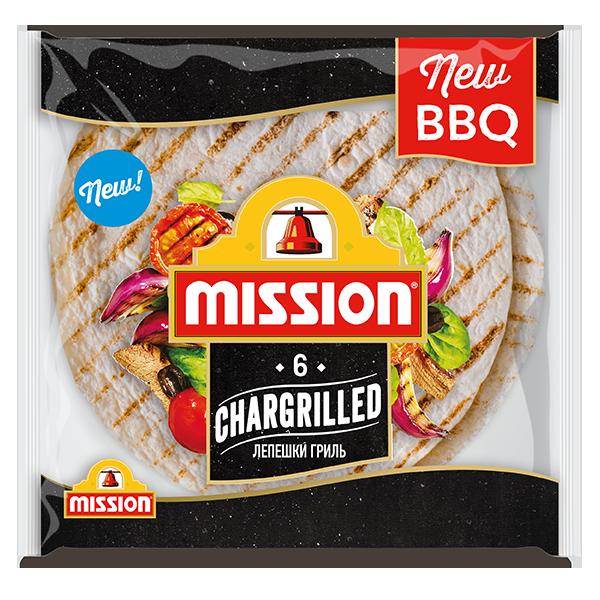 "Пшеничные лепешки-грилль ""Chargrilled"" Mission"