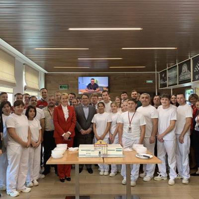 Юбилей запуска завода в России